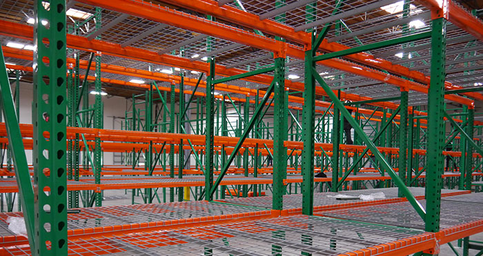 warehouse racking system - San Bernardino